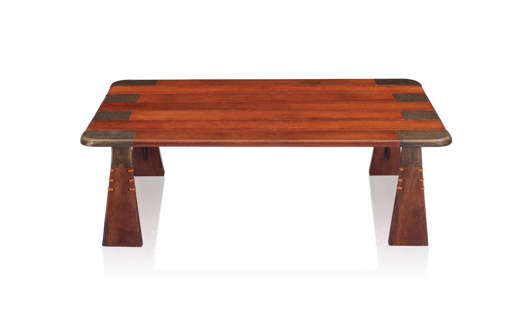 The Verite coffee table utilizes stunning #Palmwood ...