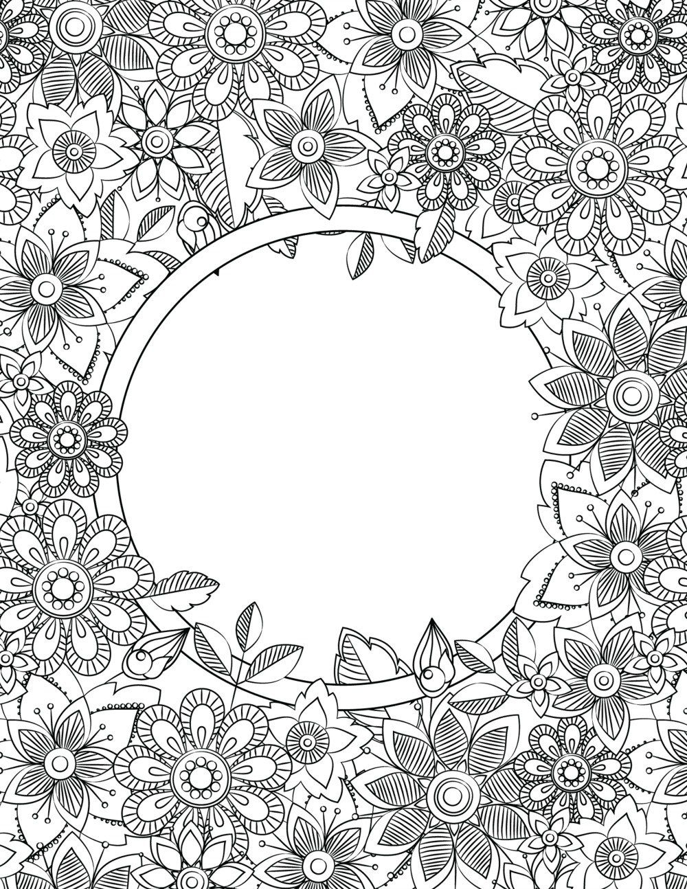 Back To School Binder Cover Adult Coloring Pages DIY Projects