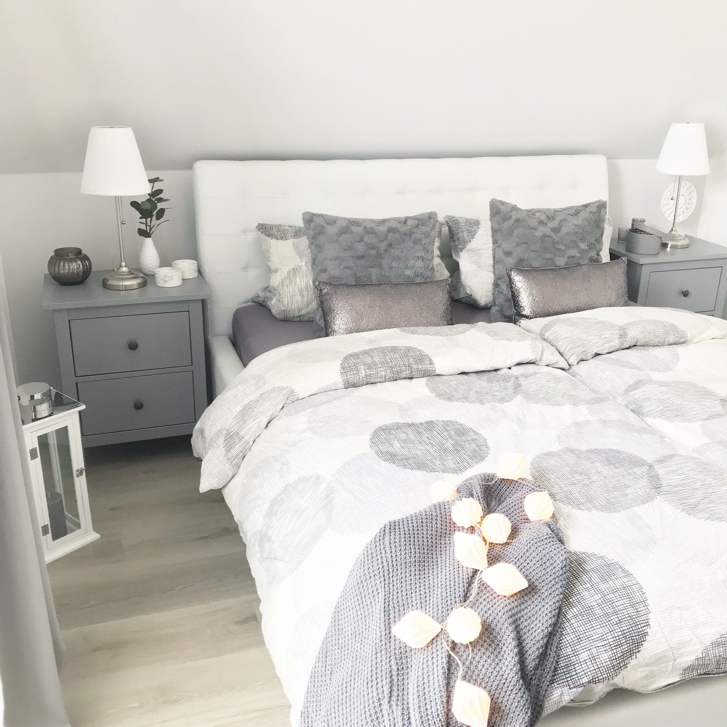 Instagram Wohn Emotion Landhaus Schlafzimmer Modern Grau