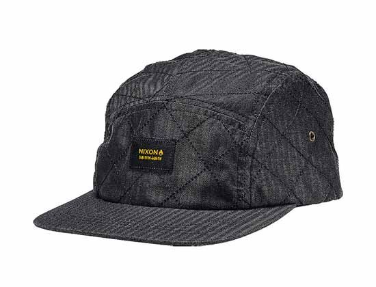 fe56e1bd9d8b0 Lowtide Quilted 5 Panel Cap by NIXON