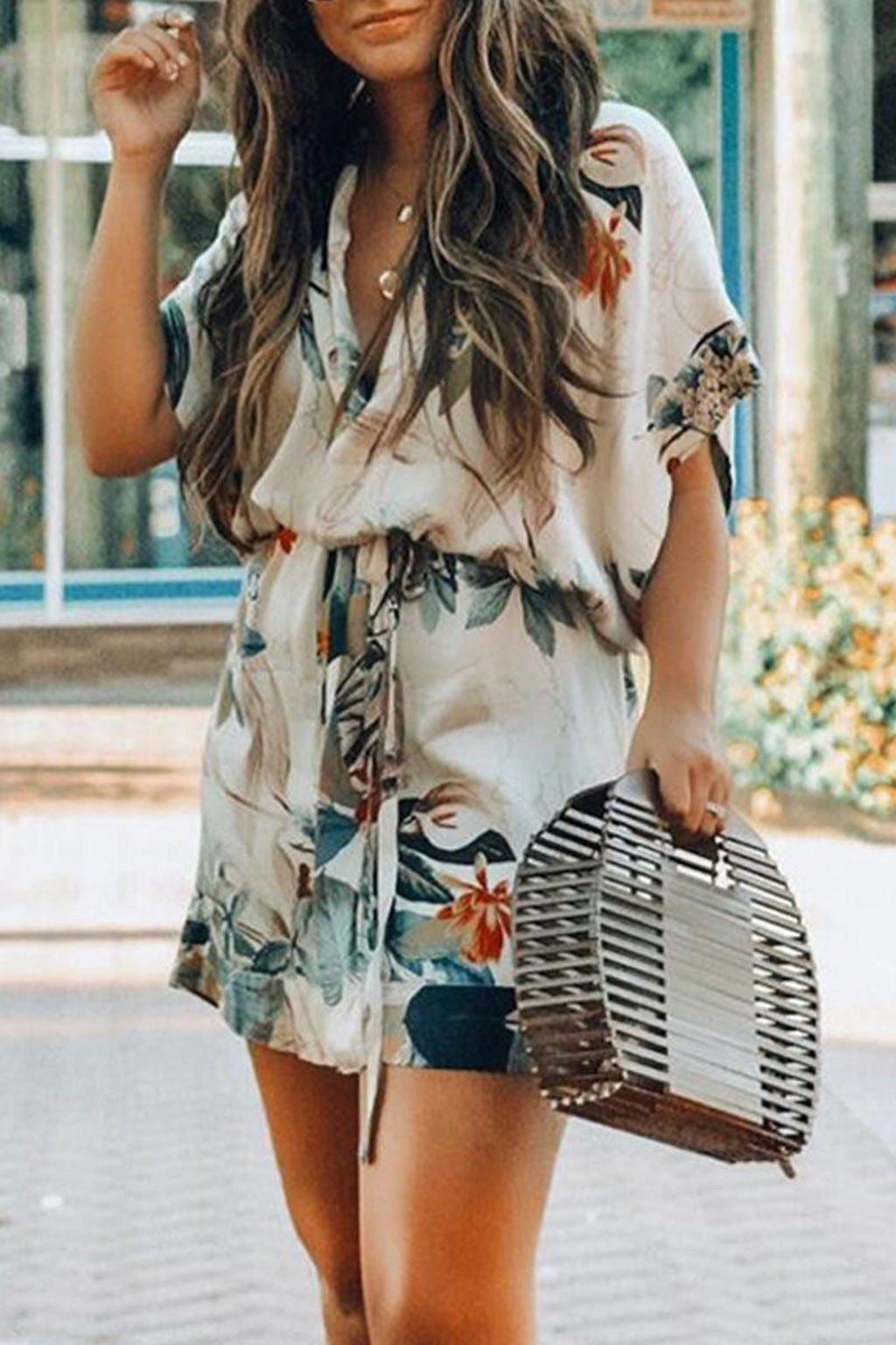 30 Fresh Summer Outfit Ideas For Women To Try In 2021 Casual Summer Dresses Cute Summer Outfits Mini Dress With Sleeves [ 1536 x 1024 Pixel ]