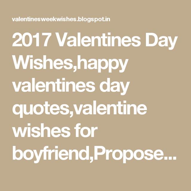 Boyfriend Quotes For Valentines Day: 2017 Valentines Day Wishes,happy Valentines Day Qu…