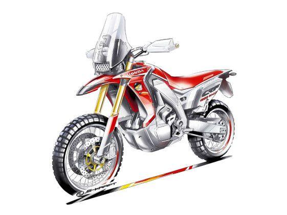 450 Dakar Concept Honda