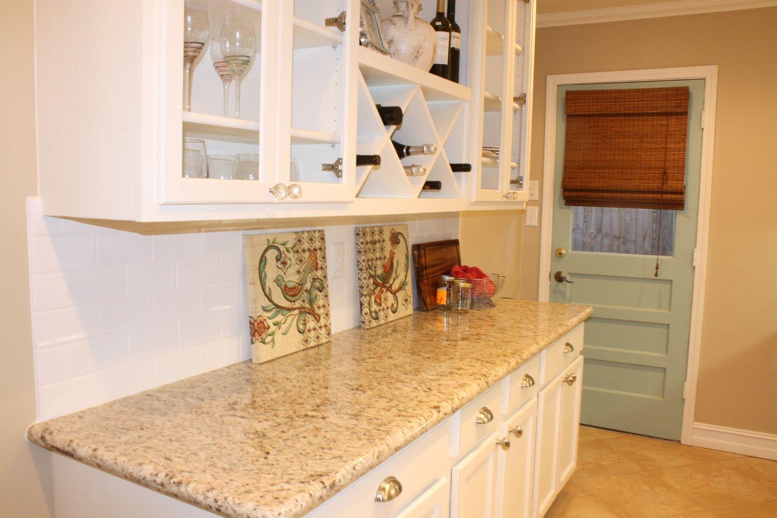 Best White Cabinets Tile Floor Giallo Ornamental Granite 400 x 300
