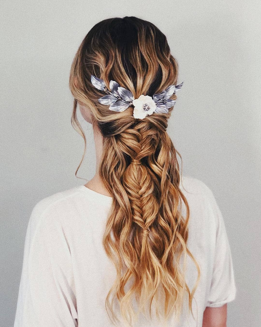 81+ Gorgeous Half Up Half Down Hairstyles That Perfect For ...