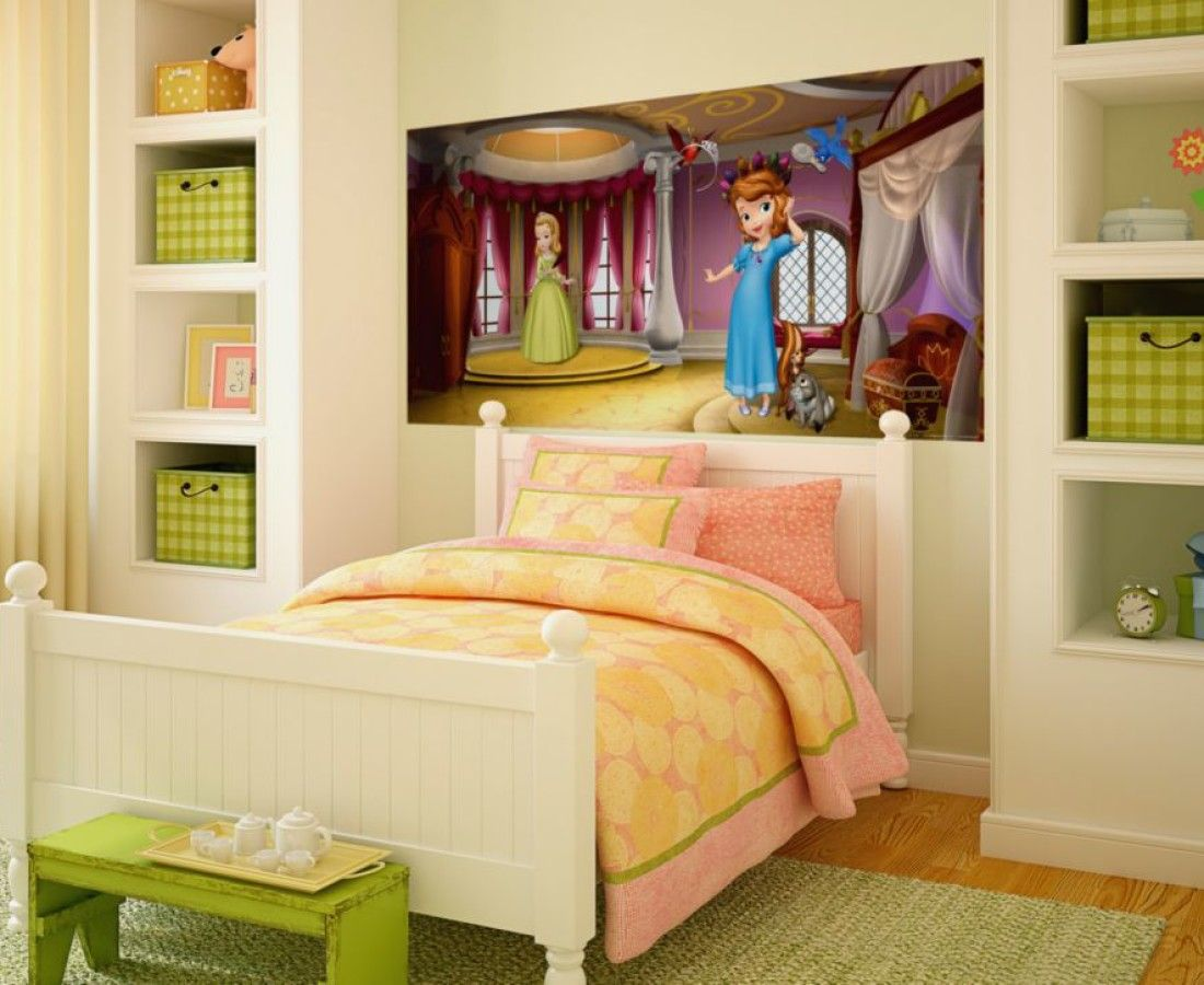 Disney Princess Girls Wall Mural By WallandMore. Perfect for girl\'s ...