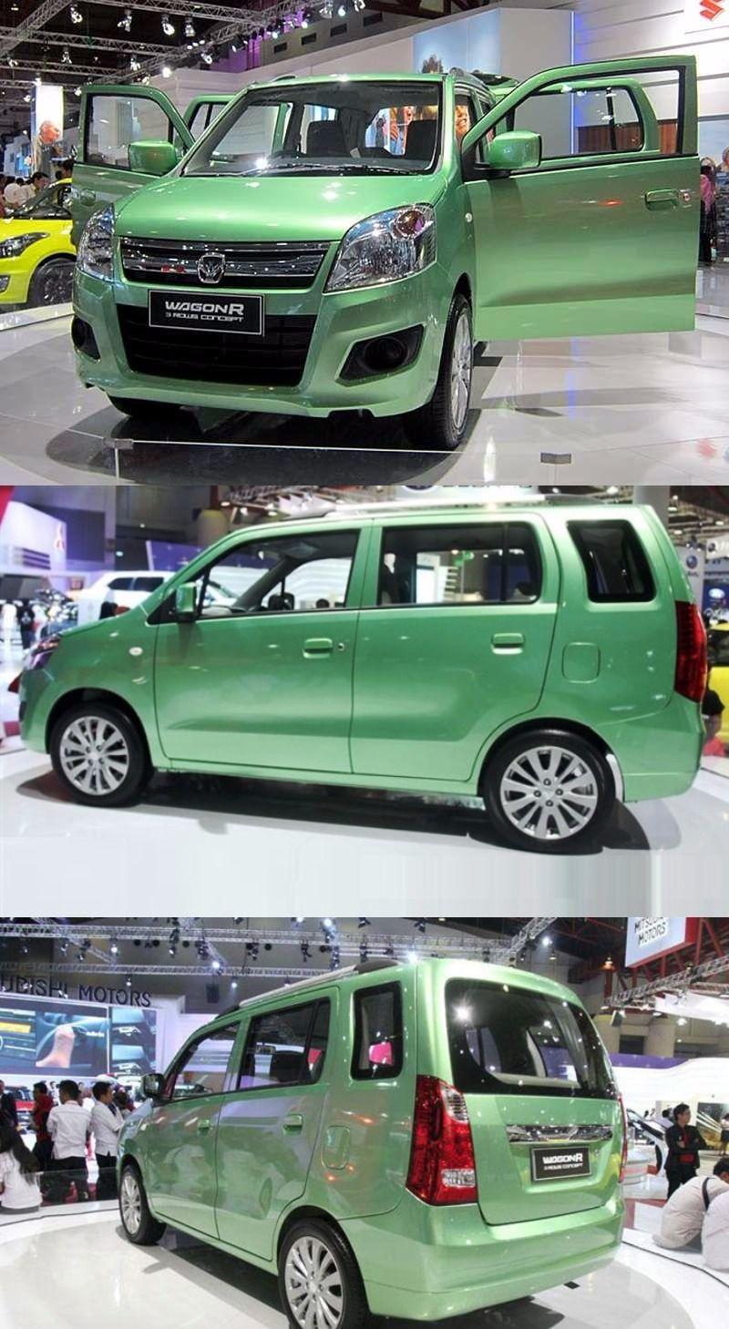 Maruti WagonR 7Seater Caught While Testing Suzuki wagon