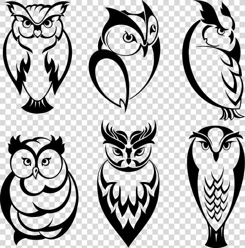 Owl Tattoo Stock Illustration Clip Art, Tattoo PNG - owl ...