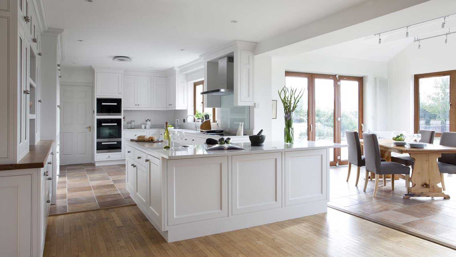 Farrow And Ball Strong White Kitchen Cabinets