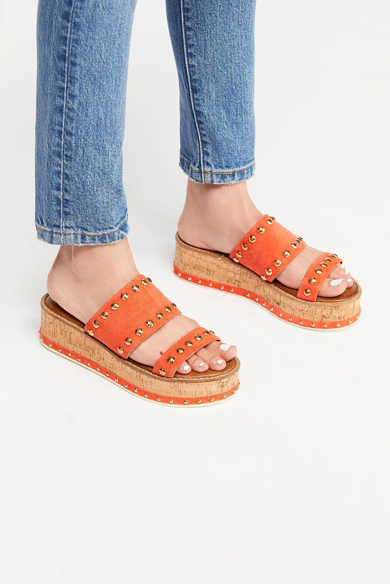 5821785fb5b Free People Lola Flatform Sandal - Sunkissed 41 Euro
