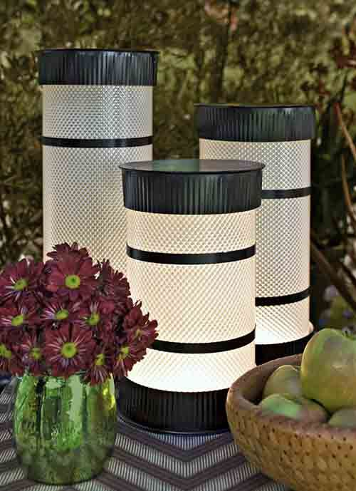 Diy tube lights 9 other diy outdoor lighting ideas