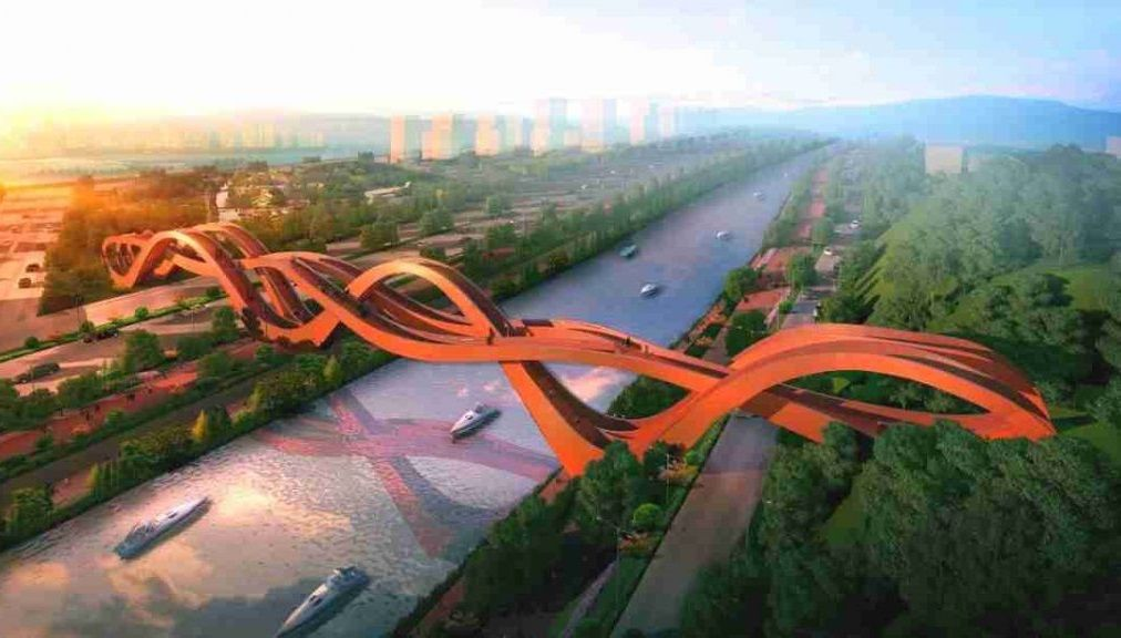 Image result for lucky knot bridge changsha china