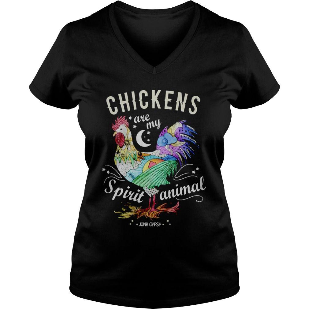 chickens are my spirit animal funny cute chicken t shirt hoodies