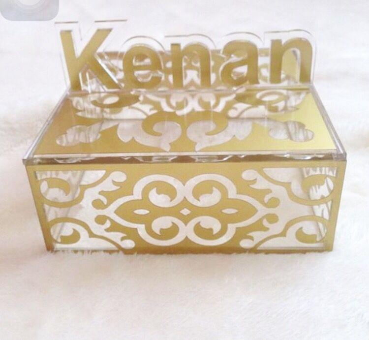 Acrylic gifts box M  Acrylic  Wood laser cutting  engraving