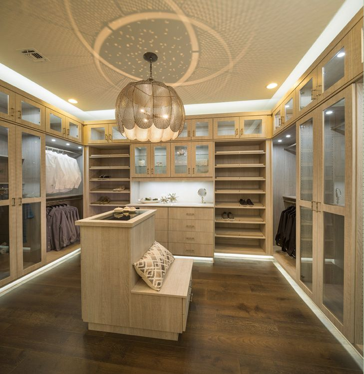 Modern Track Lighting Closet: Amazing Closets! #closets #luxury