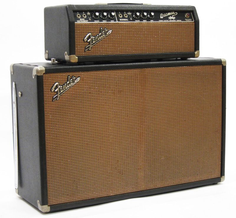 1965 fender bassman guitar amplifiers electric guitar amp bass amps guitar amp. Black Bedroom Furniture Sets. Home Design Ideas