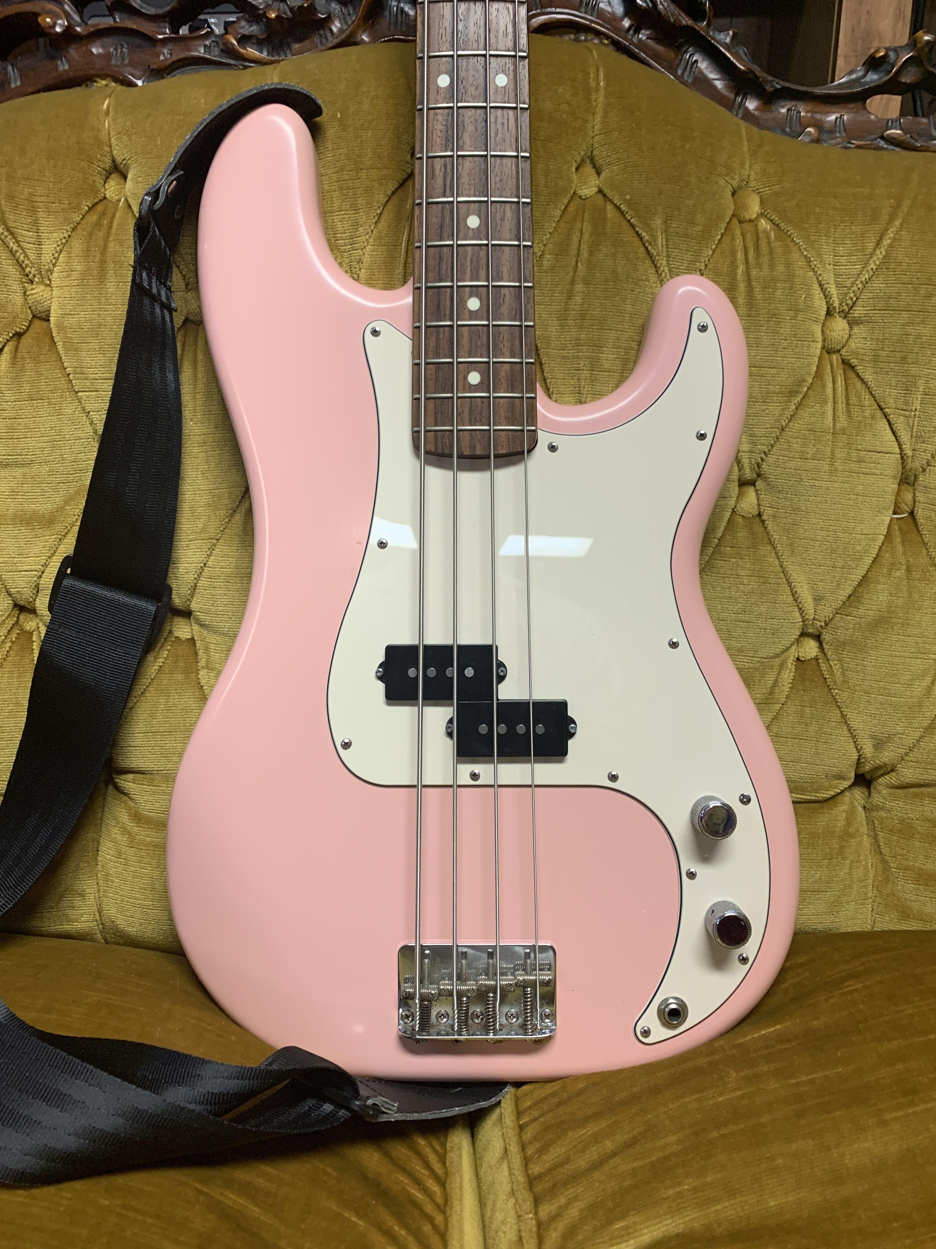 She Ll Pink P Bass Bass Guitar Guitar Bass