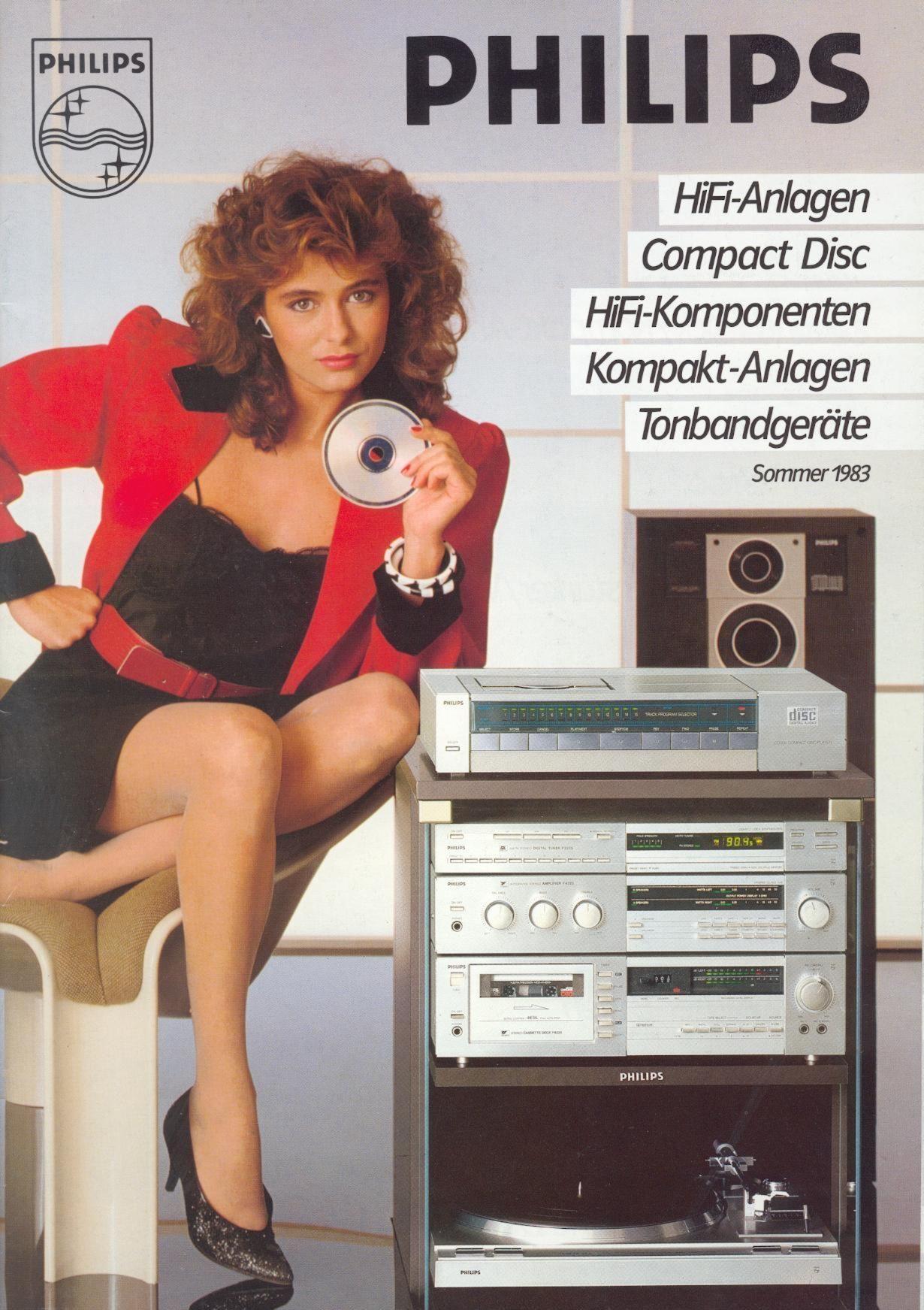 Philips Deutschland Anzeige 1983 #audiovideo