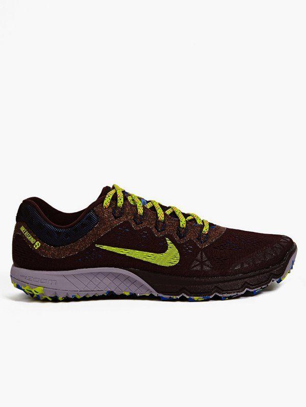 32530b551a3c Nike Men s Burgundy Zoom Terra Kiger 2 Sneakers