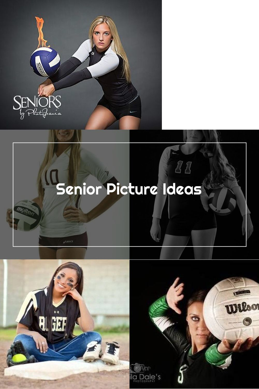 Pin On Volleyball Senior Pictures