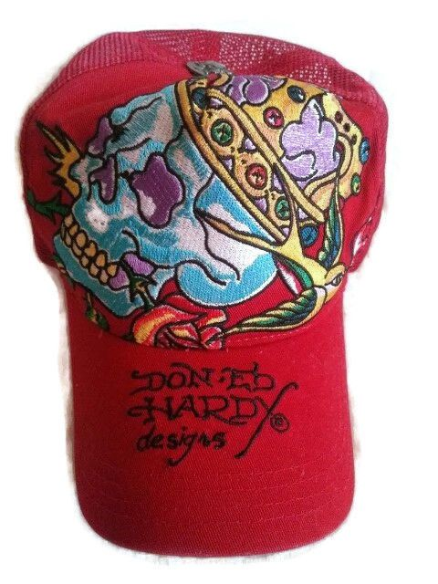 Don Ed Hardy by CHRISTIAN Audigier Trucker Snapback Cap Hat  05 Tattoo  Artist  EdHardy  Trucker 6a9c4da07da