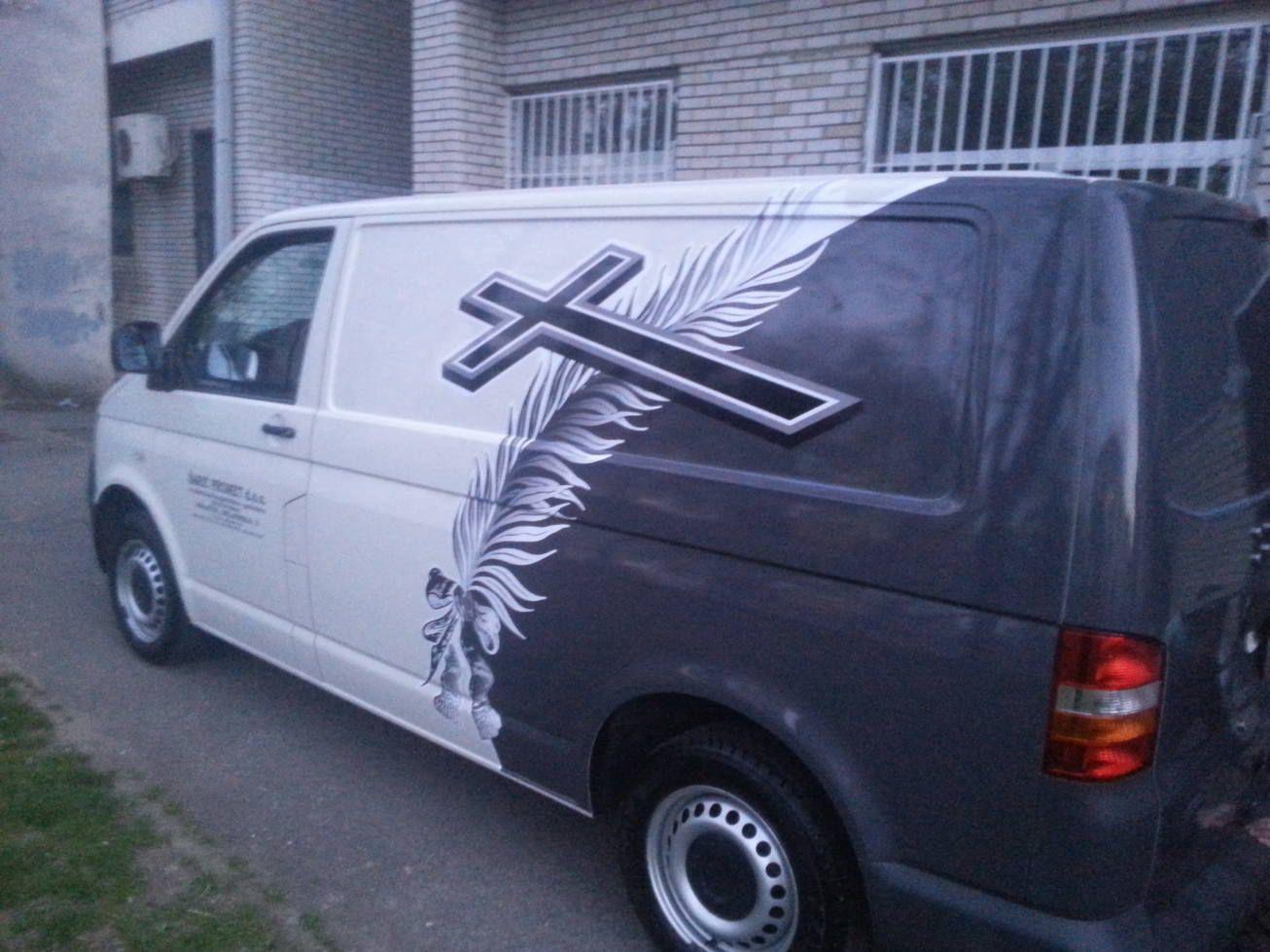 Oslikavanje Folijom Vans Vehicles Car