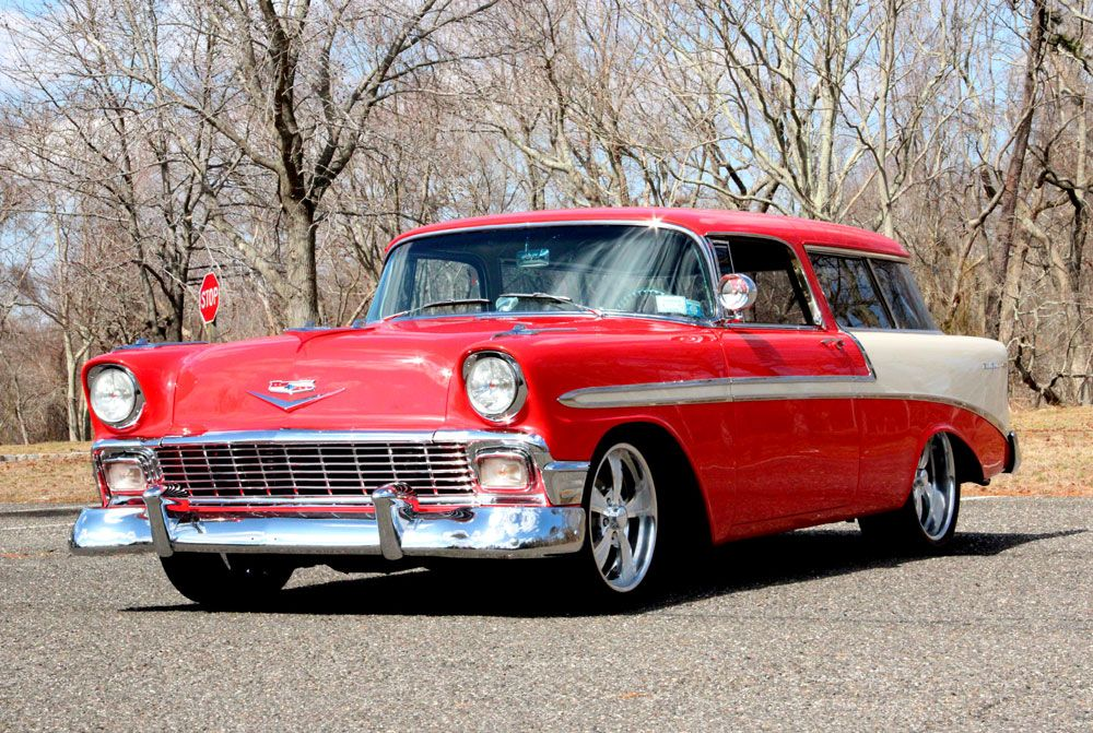 1956 Chevrolet Nomad Wagon Classic cars, Classic cars