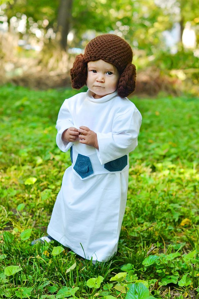 DIY Princess Leia toddler costume  sc 1 st  Pinterest & DIY Princess Leia toddler costume | Pinterest | Toddler costumes ...