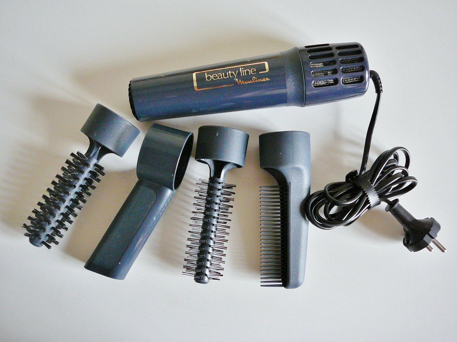 Détails sur QUASI NEUF Brosse seche cheveux Beauty Line ...