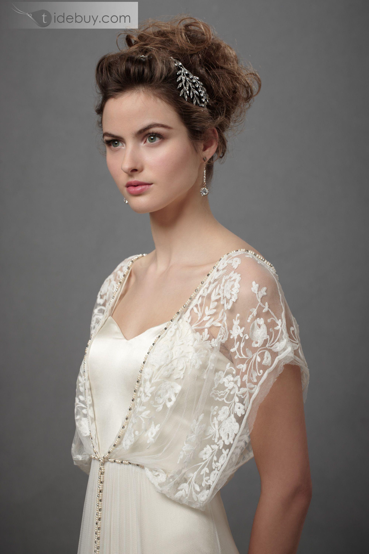 Empire V Neck Short Sleeves Court Train Beading Fashion Wedding Dress Delicate Wedding Dress Wedding Dresses Bohemian Wedding Dresses [ 3001 x 2000 Pixel ]
