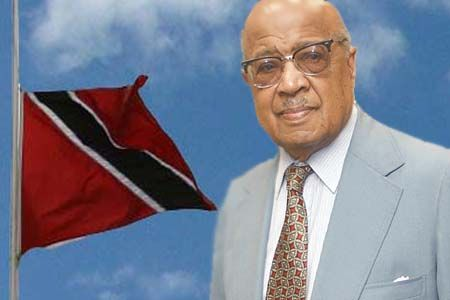 sir ellis clarke Sir ellis emmanuel innocent clarke, tc, gcmg (28 december 191730 december 2010) was the second and last governor-general of trinidad and tobago and the first president of trinidad and tobago.