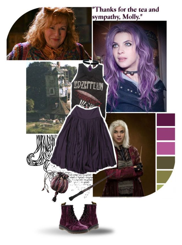"""""""Round 04 ~ Friend ~ Molly Weasley"""" by lily15 ❤ liked on Polyvore"""