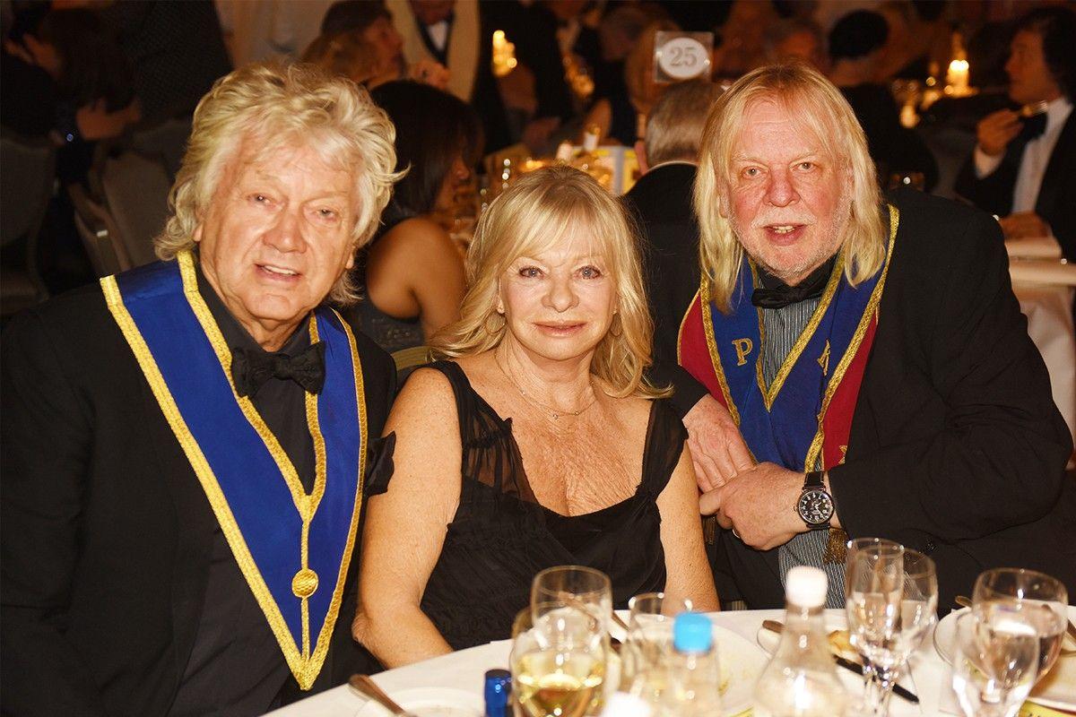 John Lodge With His Wife Kirsten And Rick Wakeman Moody Blues Wakeman Nights In White Satin