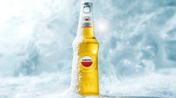 4. AMSTEL PULSE (4,7%)  Amstel Leve e refrescante, a Amstel é uma das mais famosas cervejas holandesas. A cervejaria garante que o processo de fermentação acontece devagar para atingir o perfeito equilíbrio entre sabor e refrescância. A embalagem, de vidro transparente, foi premiada internacionalmente no renomado Festival de Cannes por apresentar design único e inovador.