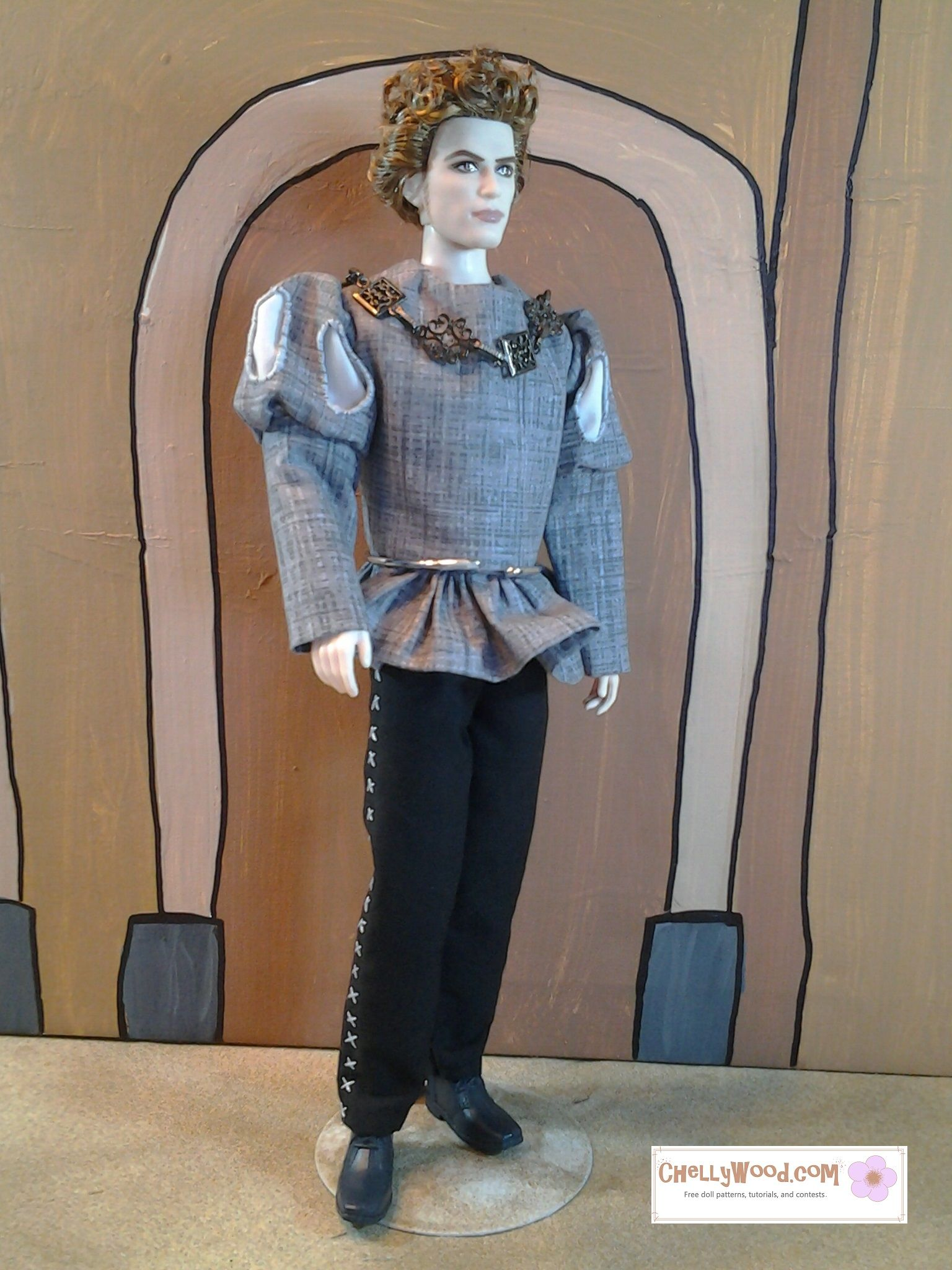 Doesn\'t Twilight doll Jasper look awesome as Lord Capulet in the ...
