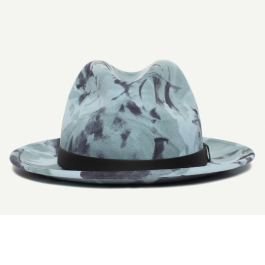 1ebe4c3ae99d1 Dean The Butcher Sky Wool Fedora Hat