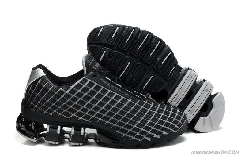 8f8c5616e6b74 Adidas Porsche Design Bounce 2012 Running Shoes Black Silver