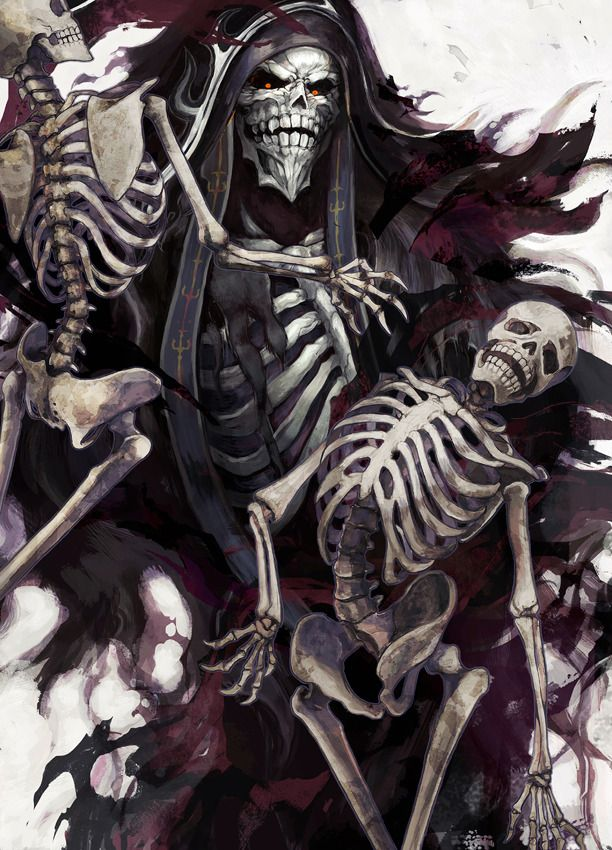Ainz Ooal Gown by Horocca overlord (With images) Anime