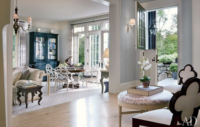 Ct Home Interiors a sophisticated connecticut home | alexa hampton, foyers and