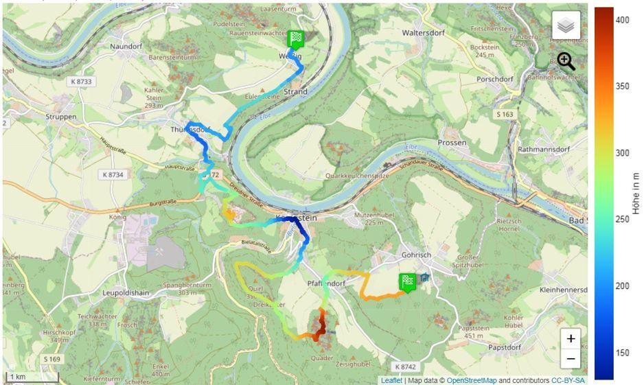 Der Malerweg Etappen Karten Tipps Und Wegbeschreibungen In 2020 Malerweg Schonste Wanderwege Malen