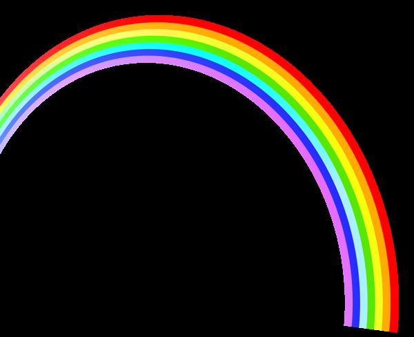 Rainbow Clipart Met Afbeeldingen Regenboog Schoolfeesten