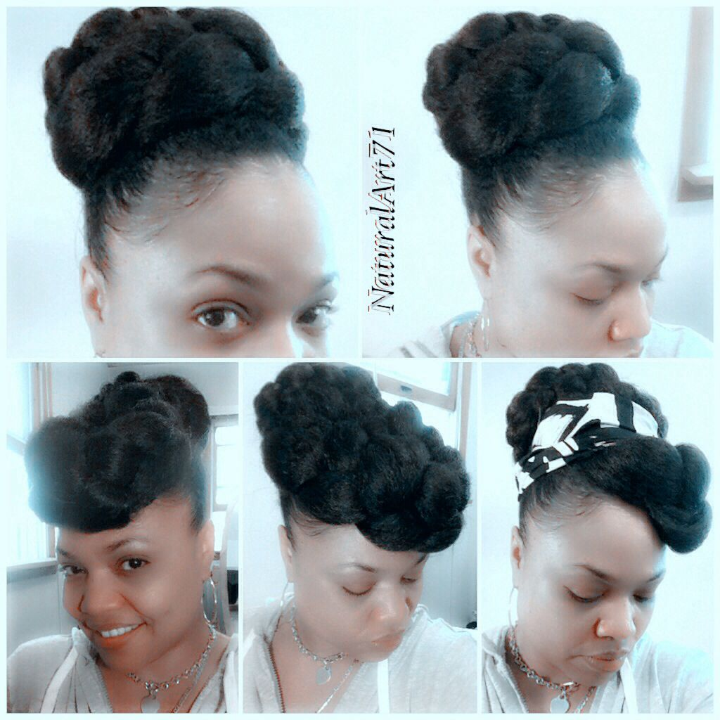 Faux Bun Styles Using Jumbo Braiding Hair Inexpensive So Cute