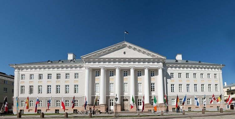 Tartu Town Hall Square - University main building (Image Credit: Andres Tennus)