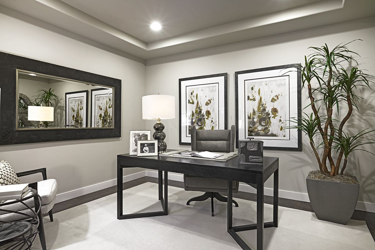 Eyecatching Accessories  Home Office  Daley Model Home In Inspiration Private Dining Rooms Richmond Va Review
