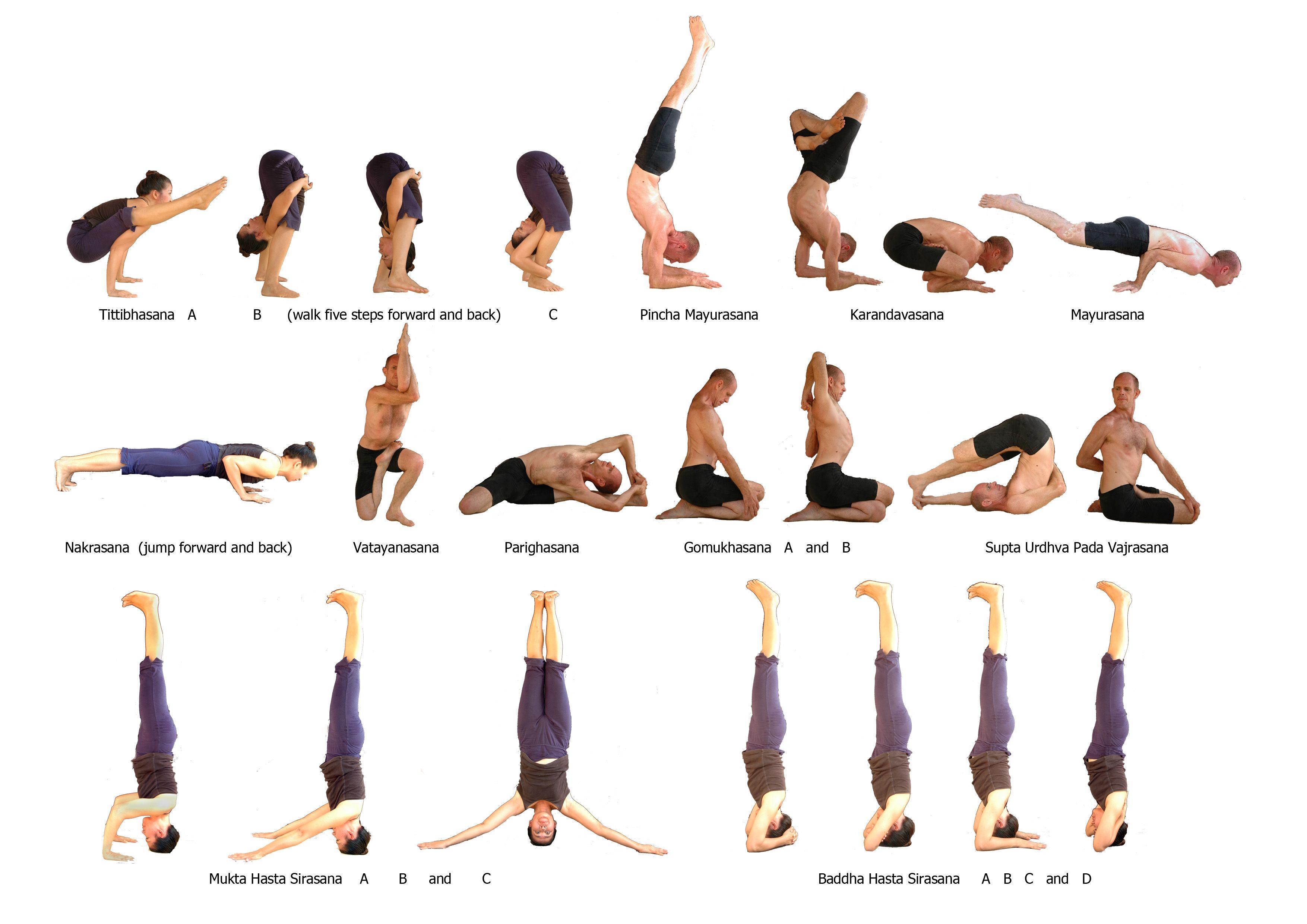 Advanced Vinyasa Yoga Poses