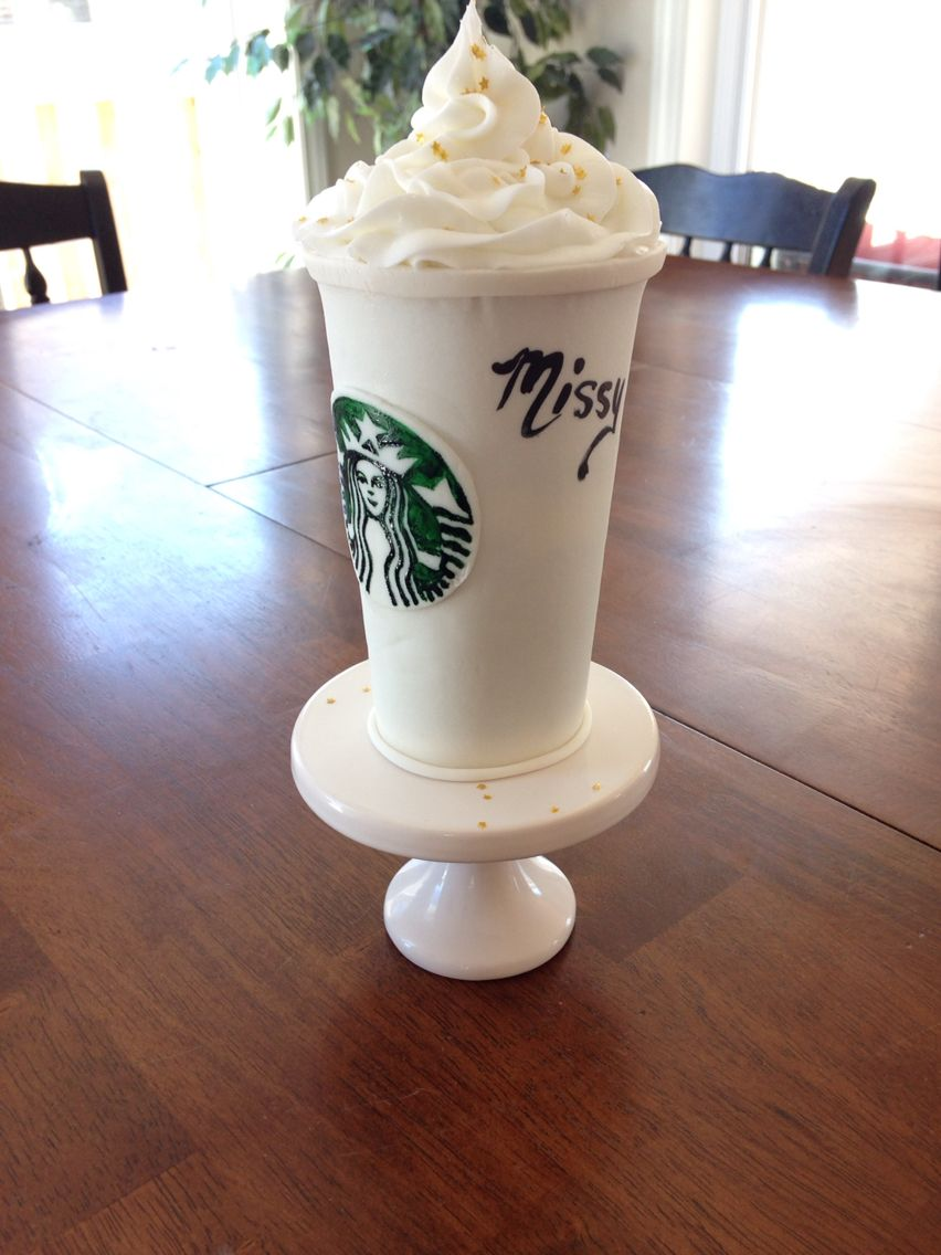 Starbucks Cup Cake For A 30th Birthday Cakes And Desserts