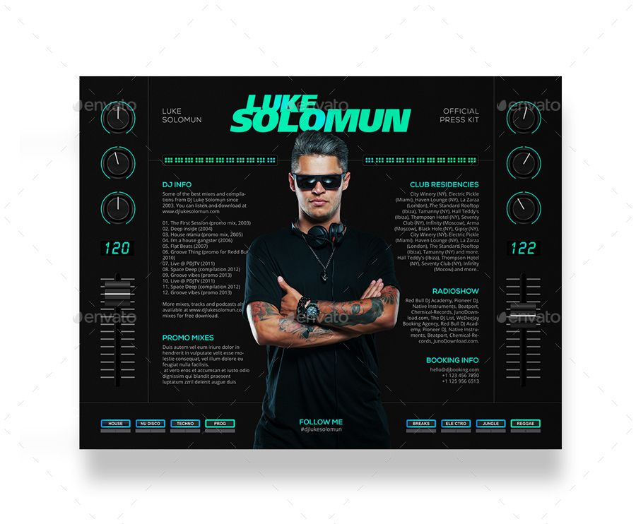 Madjestik Dj Press Kit Dj Resume Dj Rider Psd Template Affiliate Press Aff Kit Madjestik Dj Press Kit Template Press Kit Psd Templates