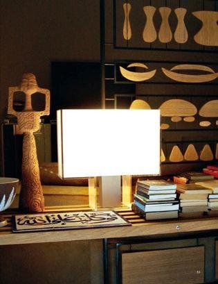 Kartell Tati Design Tafellamp Met Kap In Wit Entrepot