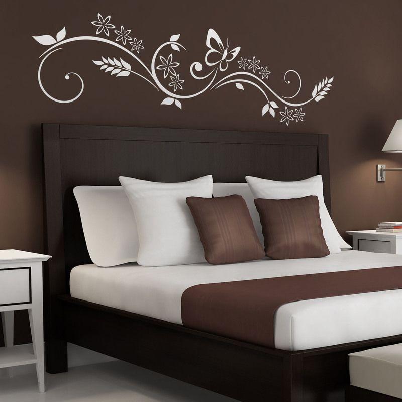 Flores y Mariposa - VINILOS DECORATIVOS #decoracion # ...