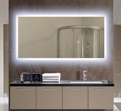 Illuminated Mirror Verano 24 X 32 In Bathroom Mirror Backlit Bathroom Mirror Mirror Cabinets